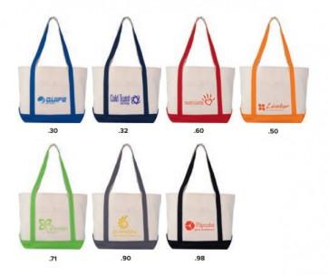 gekleurde strandtassen bedrukken