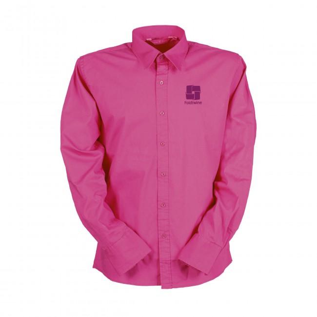 Roze Heren Overhemd.Lemon Soda Heren Overhemden Bedrukken Met Logo Al Vanaf 6 Stuks