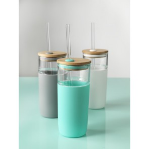 Eco glazen fles 600 ml.