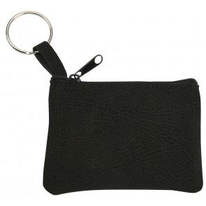 sleuteltasje bedrukken zwart