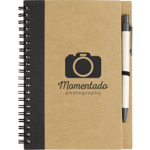 Gerecycled Notebook met pen