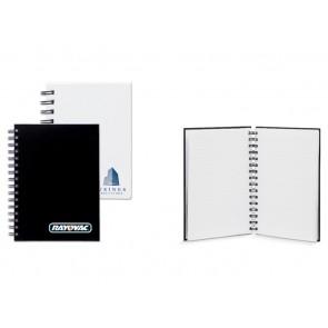 Bedrukte notitieboeken A6 met spiraal