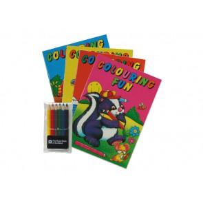 kleurboeken met logo