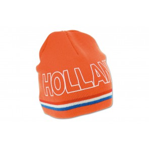 Gebreide oranje muts Holland