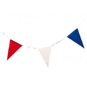 vlaggenlijn rood wit blauw