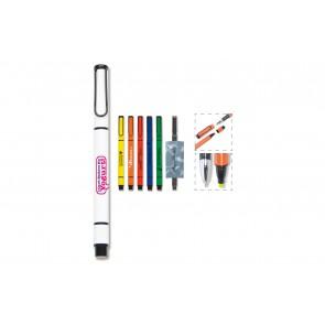 LT81416 Pen met tekstmarker 2in1