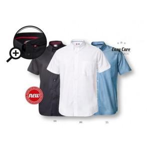 Clique New Cambridge overhemden - 027310 korte mouw overhemden bedrukken.
