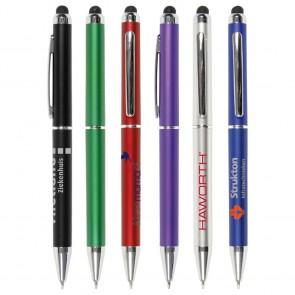 Man touch pennen bedrukken