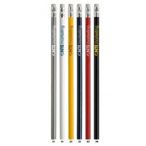 potloden met gum bedrukken