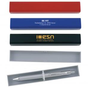 pennen in doosje bedrukken