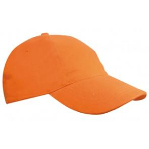 Promo kinderpet oranje bedrukken