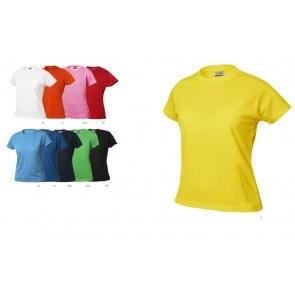 Clique Ice-t dames sportshirt bedrukken  Dames Sportshirts goedkoop bedrukken als teamkleding.