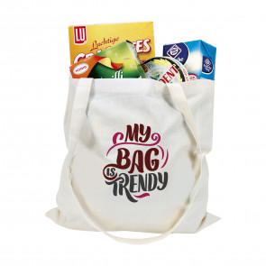 Katoenen tassen met lange hengsels (135 g/m²)