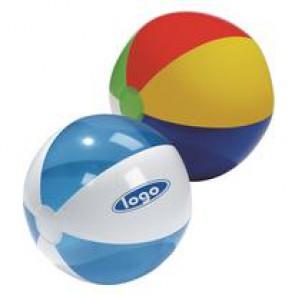 Strandballen met bedrukking