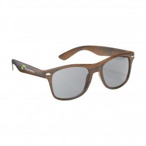 zonnebril met houtlook bedrukken