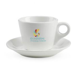 koffiekop en schotel bedrukken