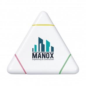 driehoek markeerstiften bedrukken