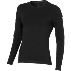 Organic T-shirt long sleeve dames