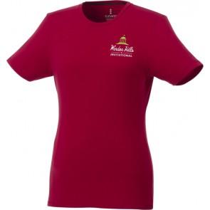 Organic T-shirt ronde hals dames