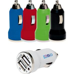 Dubbele USB autolader