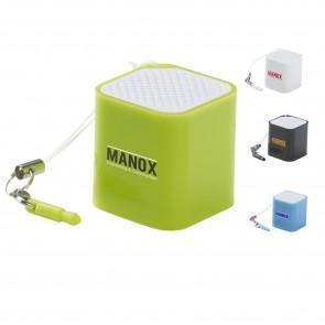 Sound Cube Mini speakers bedrukken als relatiegeschen