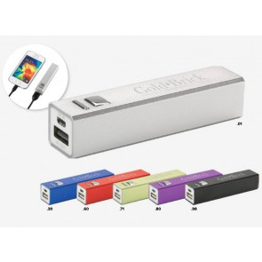 powerbanks met logo
