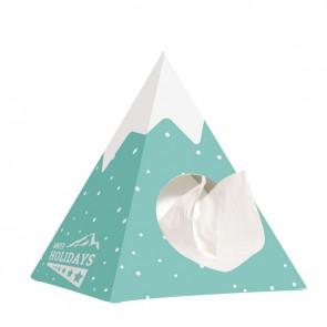 Tissue box pyramide