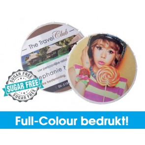 Click Clack blikjes bedrukken in full-colour! Snel en Goedkoop geleverd!