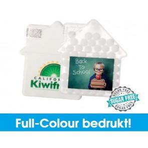 Huis mintdoosjes in full-colour bedrukken - Goedkope huis mintdoosjes.