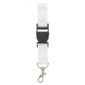 Lanyard met safety break