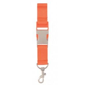 Oranje Lanyard Flesopener