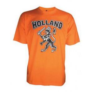Oranje Holland T-shirt voor kinderen en baby's bedrukken