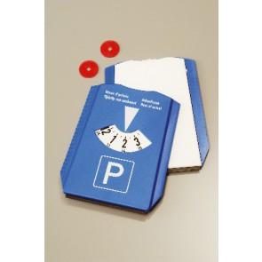 parkeerschijf bedrukken