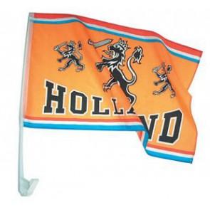 Holland oranje autovlag