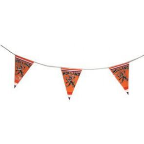 vlaggenlijn, oranje vlaggetjes