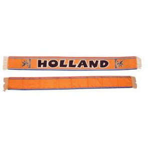 Oranje polyester Holland sjaals bedrukken