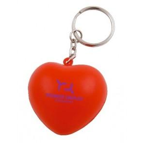 anti stress hart aan sleutelhanger bedrukken