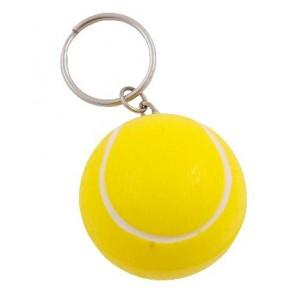 stress tennisbal aan sleutelhanger bedrukken