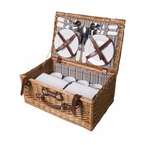 Rieten Picknickmanden relatiegeschenk