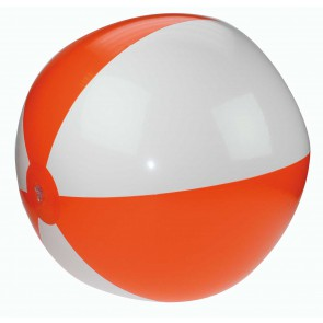 oranje strandballen bedrukken