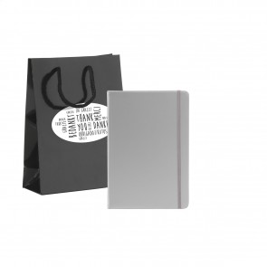 Notitieboekje in geschenkverpakking: Pocket Notebook A5 Gift Set