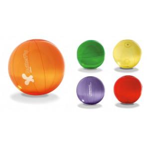 Transparante strandballen bedrukken