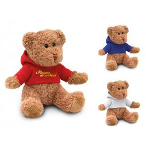 Teddybeer met sweatshirt