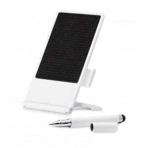 Smartphone stand met stylus