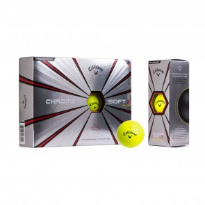 Golfbal Chrome Soft X Callaway