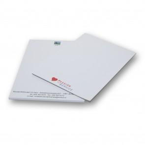 A6 Schrijfblokken goedkoop drukken met 1 drukkleur