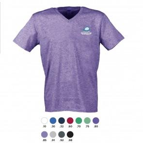 Gildan Standard heren v-neck T-shirts bedrukken