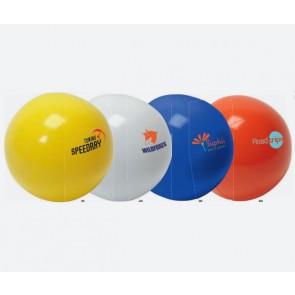 gekleurde grote strandballen bedrukken
