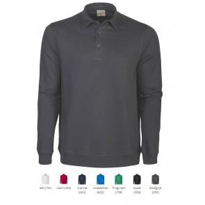 Sweater met polokraag bedrukken