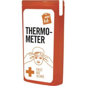 Mini kit thermometer rood